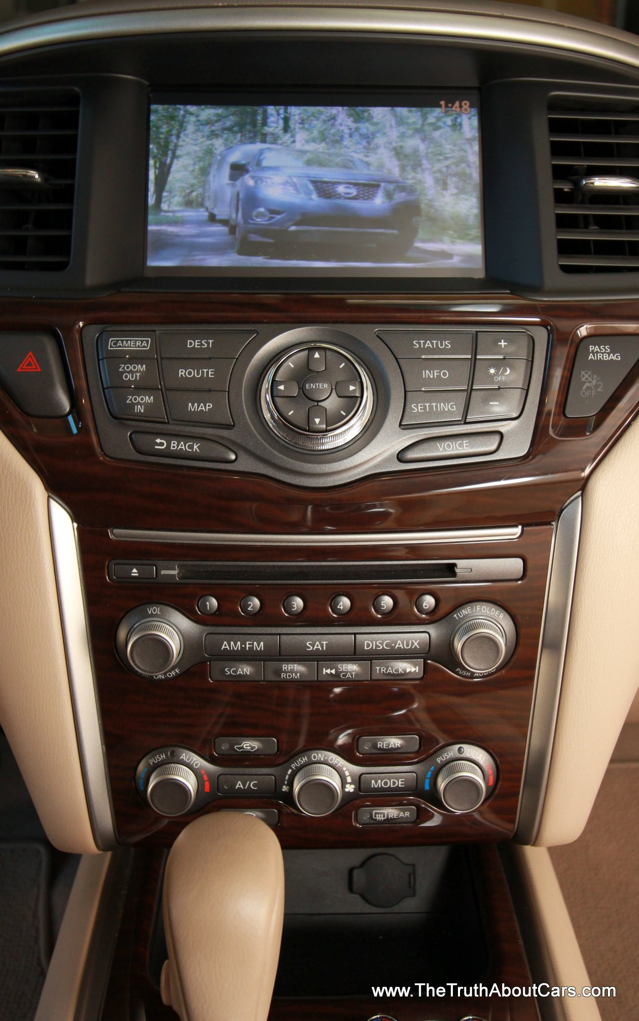 2013 Nissan Pathfinder Interior Dashobard Picture Courtesy Of Alex L Dykes The Truth About