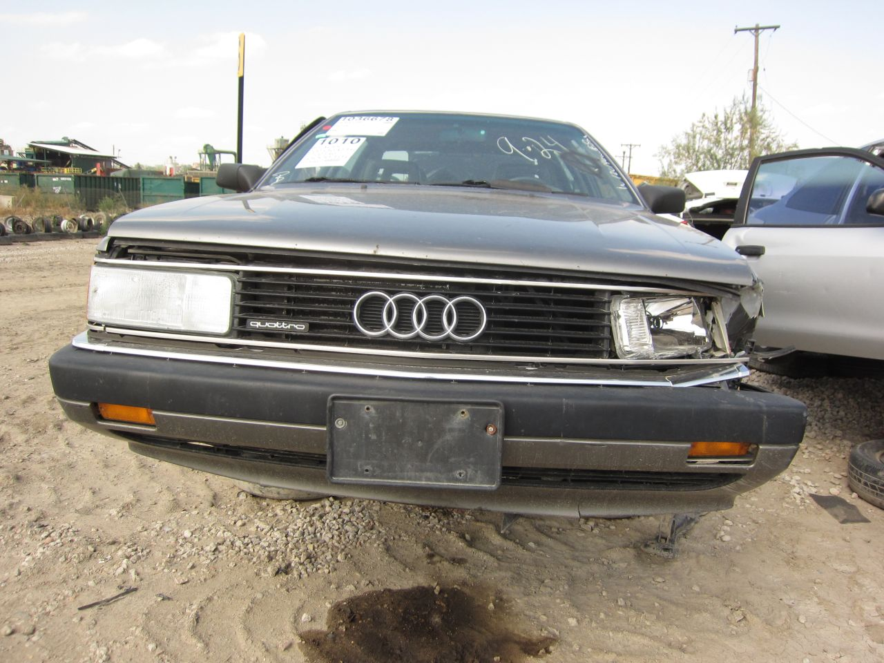 junkyard find 1989 audi 200 quattro turbo the truth. Black Bedroom Furniture Sets. Home Design Ideas