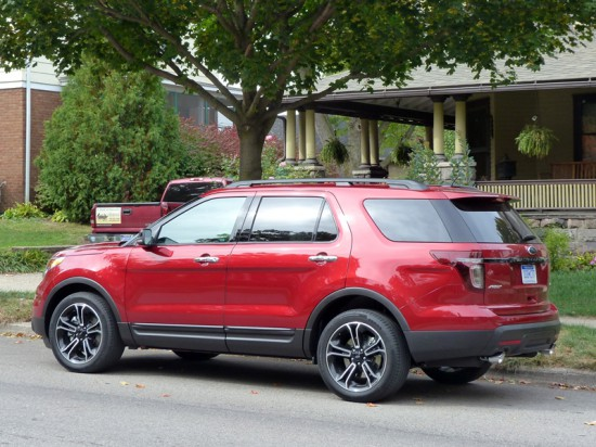 Explorer Sport rear quarter, picture courtesy Michael Karesh