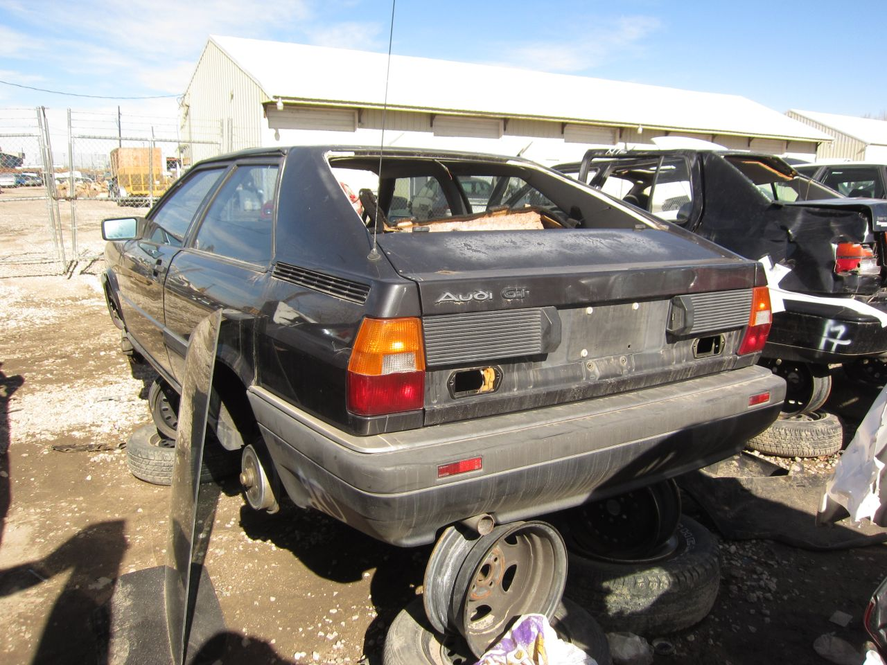 Junkyard Find: 1986 Audi Coupe GT - The Truth About Cars