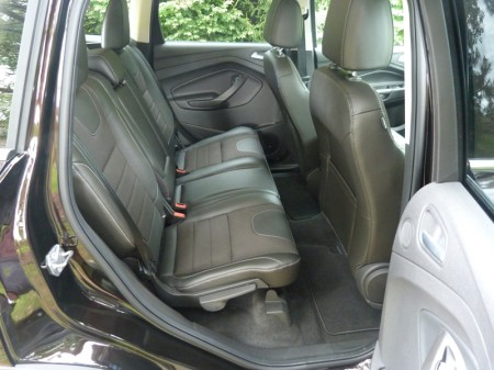 Escape rear seat, picture courtesy of Michael Karesh