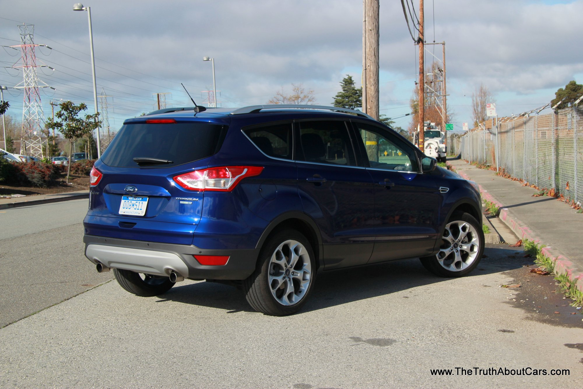 2013 ford escape titanium exterior front 3 4 picture courtesy of alex l dykes the truth. Black Bedroom Furniture Sets. Home Design Ideas