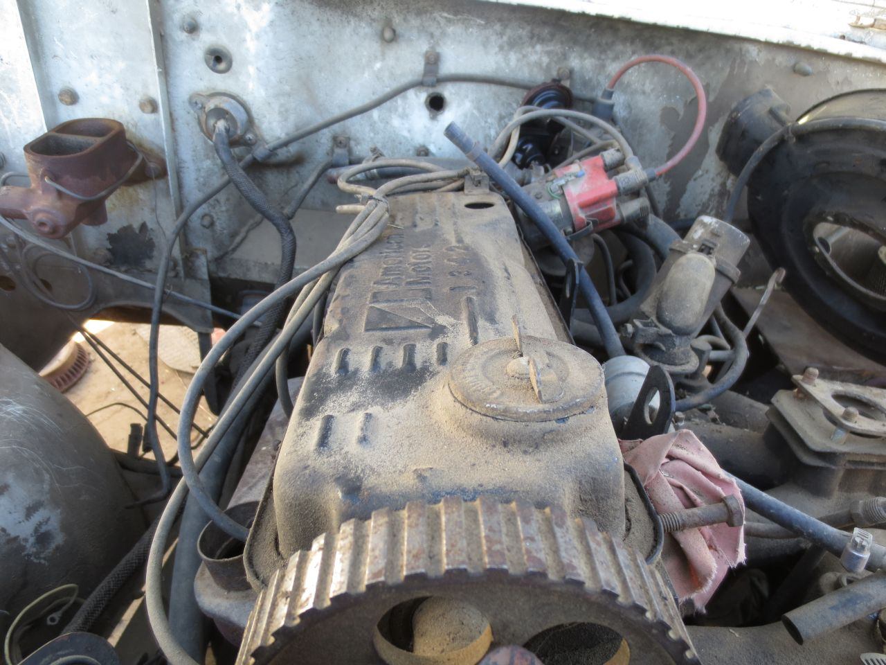 Junkyard Find 1979 Am General Dj 5g Jeep With Factory Audi Power Iron Duke Engine Diagram This Dash Is Probably What Designer Hell Looks Like