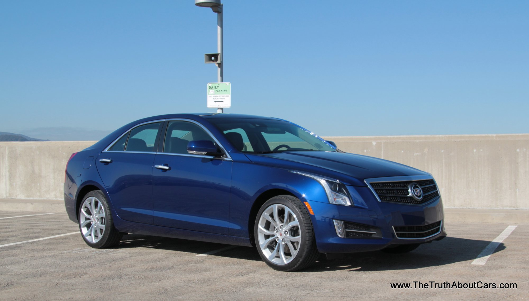 2013 cadillac ats 3 6 awd exterior side 3 4 picture courtesy of alex l dykes the truth. Black Bedroom Furniture Sets. Home Design Ideas