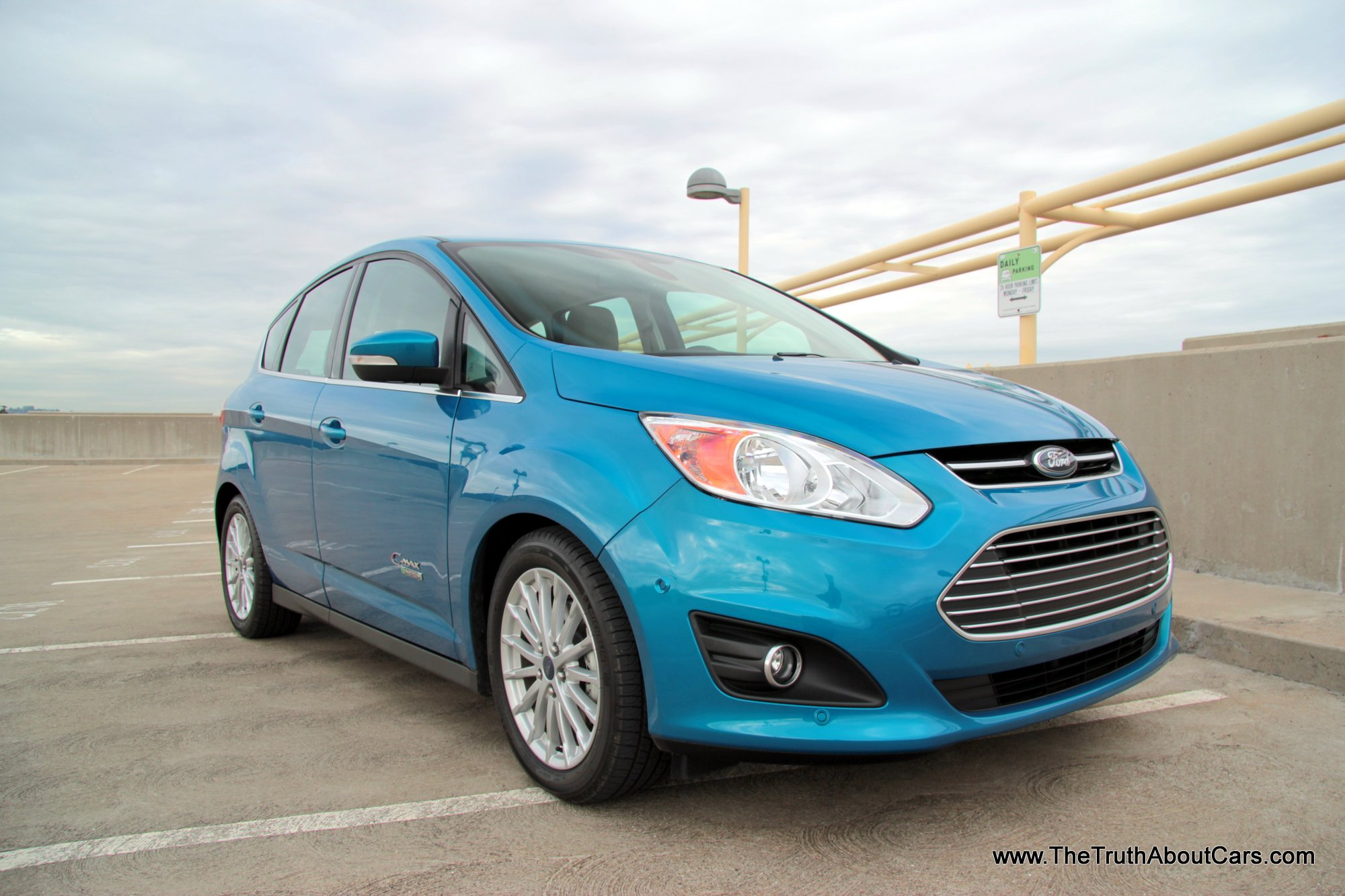 review 2013 ford c max energi plug in hybrid video the truth about cars. Black Bedroom Furniture Sets. Home Design Ideas