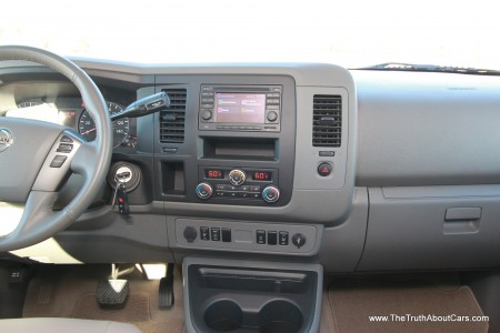 2013 Nissan NV 3500 Passenger Van, Interior, Dashboard, Picture Courtesy of Alex L. Dykes