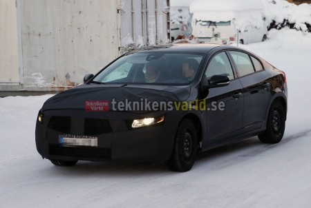 2014 Volvo S60 Facelift, Picture Courtesy of Teknikensvarld.se