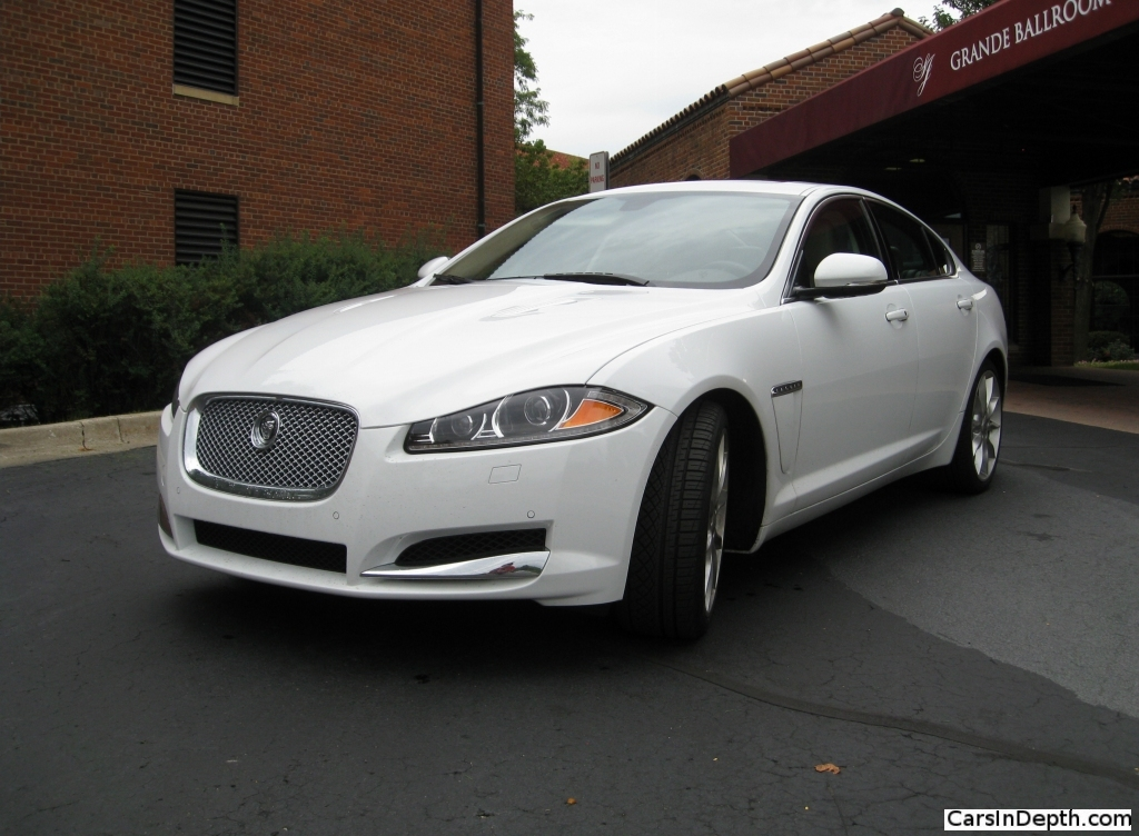 review 2012 jaguar xf supercharged the truth about cars. Black Bedroom Furniture Sets. Home Design Ideas