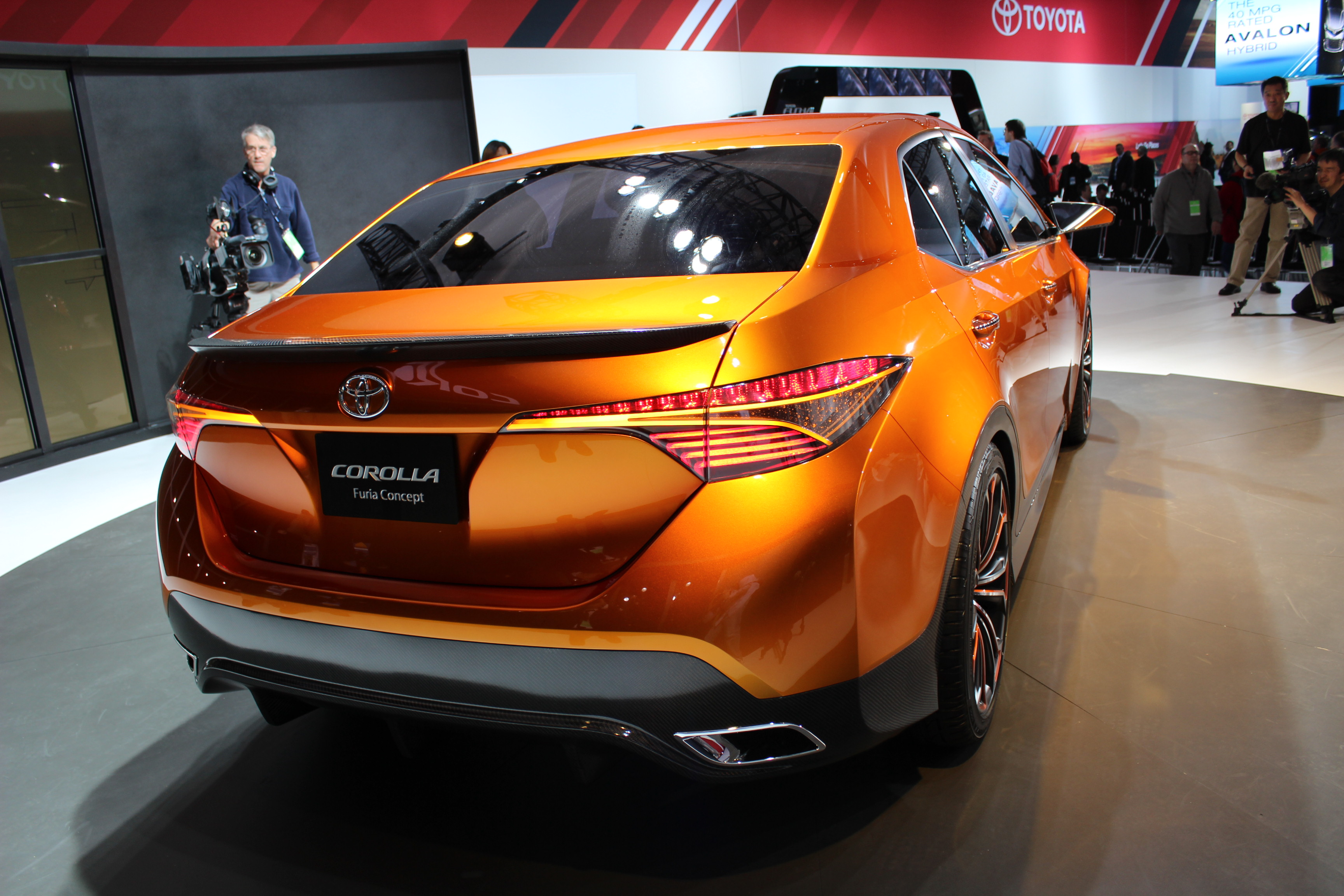 NAIAS 2013: Toyota Furia Previews The Corolla - The Truth About Cars