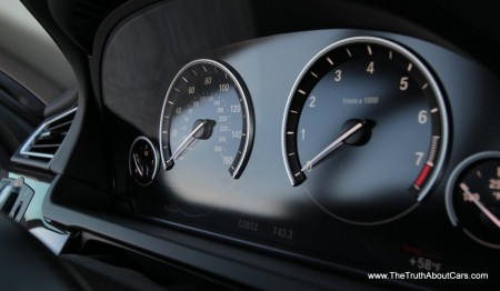 2013 BMW 750Li, Interior, Gauge cluster, Picture Courtesy of Alex L. Dykes