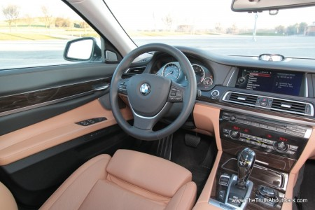 2013 BMW 750Li, Interior, Driver's Side, Picture Courtesy of Alex L. Dykes