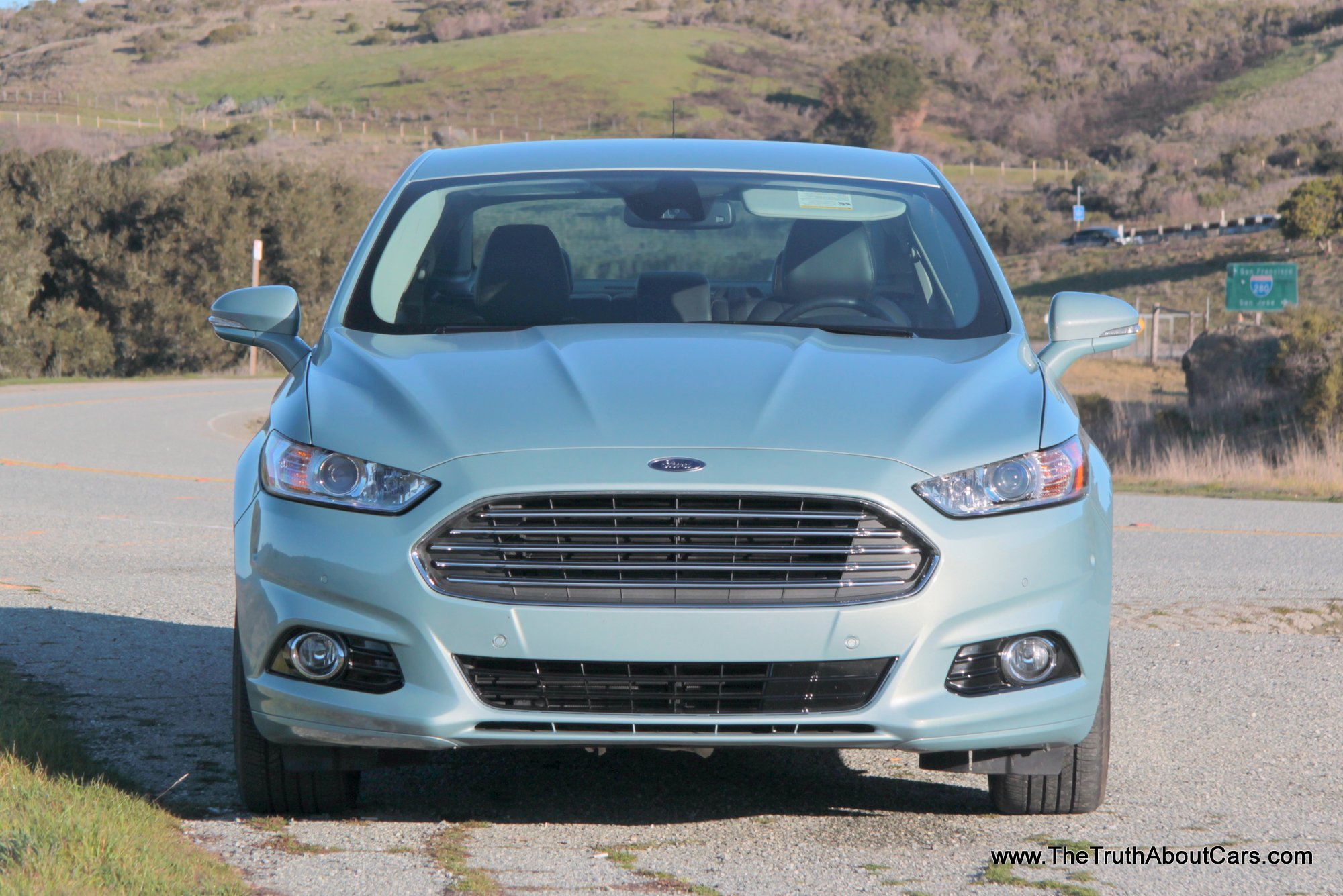 2013 ford fusion hybrid exterior front picture courtesy of alex l. Cars Review. Best American Auto & Cars Review