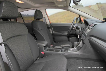 2013 Subaru XV Crosstrek, Interior, Dashboard and Seats, Picture Courtesy of Alex L. Dykes