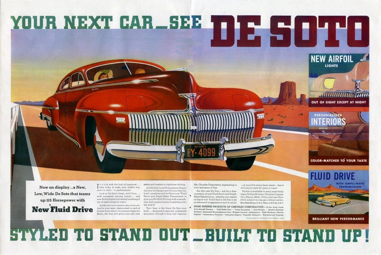 San Francisco Toyota >> 1942 Desoto Ad-06 - The Truth About Cars