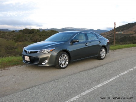 2013 Toyota Avalon Limited, Exterior, Front 3/4, Picture Courtesy of Alex L. Dykes