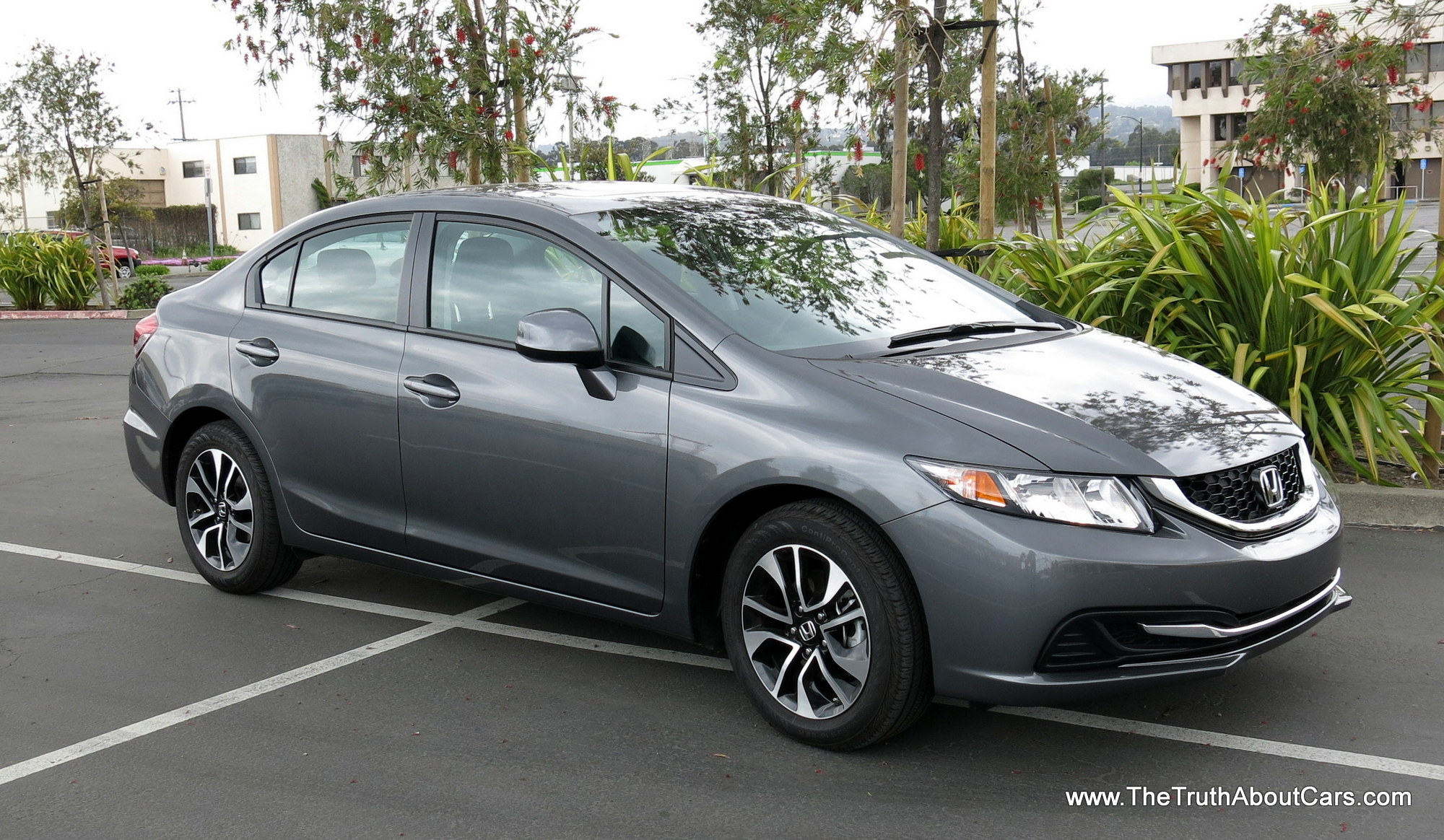 review 2013 honda civic ex video the truth about cars. Black Bedroom Furniture Sets. Home Design Ideas