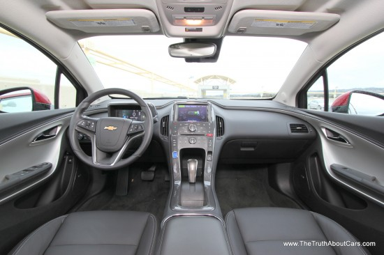 2013 Chevrolet Volt Interior, Picture Courtesy of Alex L. Dykes