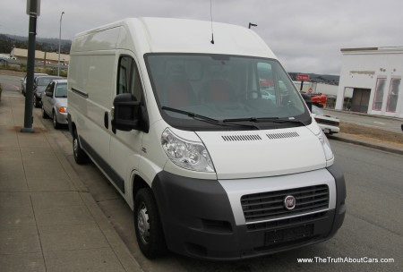 2013 Fiat Ducato Cargo Van, Picture Courtesy of Alex L. Dykes