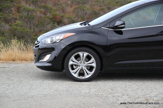 2013 Hyundai Elantra GT Exterior, Picture COurtesy of Alex L. Dykes