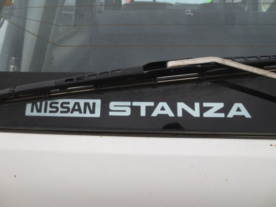 03 - 1987 Nissan Stanza Wagon Down On The Junkyard - Picture courtesy of Murilee Martin