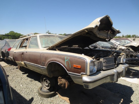 12 - 1977 Plymouth Volare Wagon Down On The Junkyard - Picture courtesy of Murilee Martin