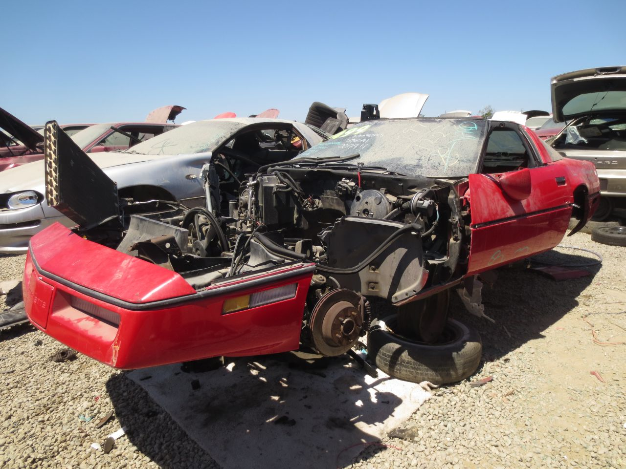 Junkyard Find 1985 Chevrolet Corvette The Truth About Cars