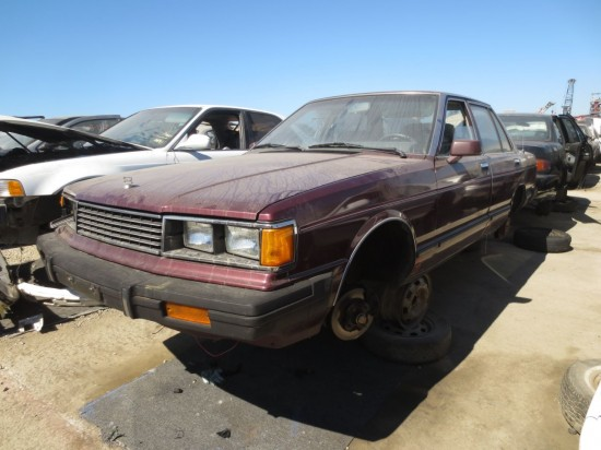 12 - 1982 Datsun Maxima Down On the Junkyard - Picture courtesy of Murilee Martin