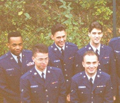"Airman W Christian Ward, before I was ""Mental."" I was irreverent, undisciplined and my hair was too long. Not much has changed."
