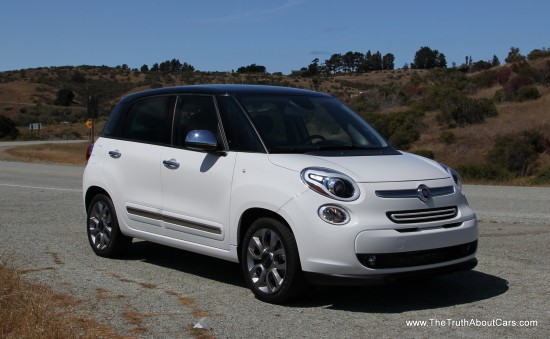 2014 Fiat 500L Exterior, Picture Courtesy of Alex L. Dykes