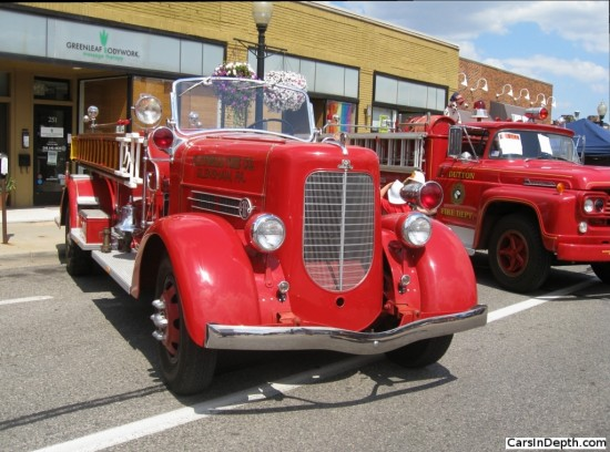 Firetrucks with the Ahrens Fox brand have been sold for over a century.