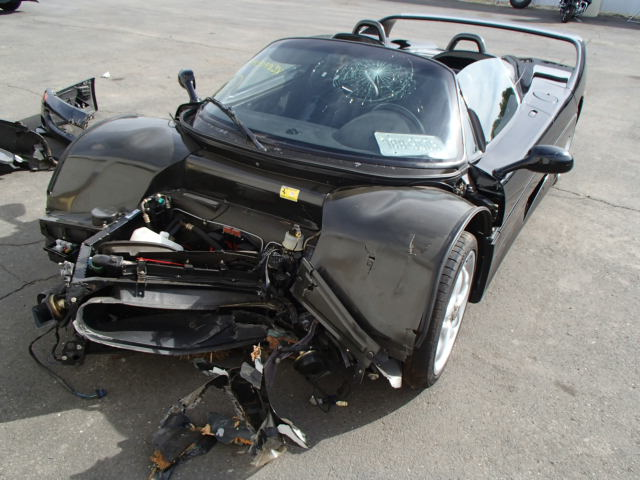 Paging Dr Ferraristein Wrecked Exotic Goes Up For Salvage Auction