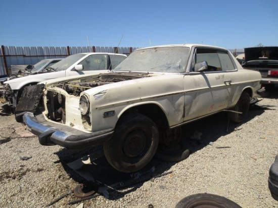 07 - 1974 Mercedes-Benz 280C Down On the Junkyard - Picture courtesy of Murilee Martin