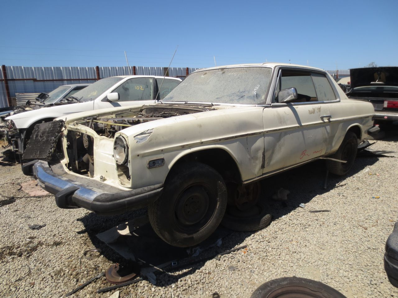 Junkyard find 1974 mercedes benz 280c the truth about cars for Find a mercedes benz