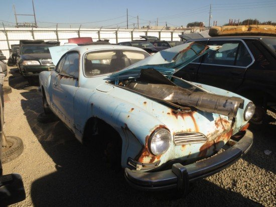 Junkyard Find: 1974 Volkswagen Karmann Ghia Coupe - The Truth About Cars