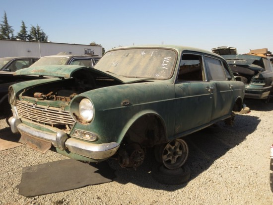 10 - 1969 Austin 1800 Landcrab ADO17 Down on the Junkyard - Picture courtesy of Murilee Martin