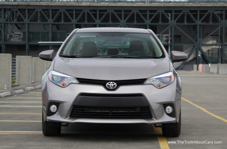 2014 Toyota Corolla Exterior, Front, Picture Courtesy of Alex L. Dykes