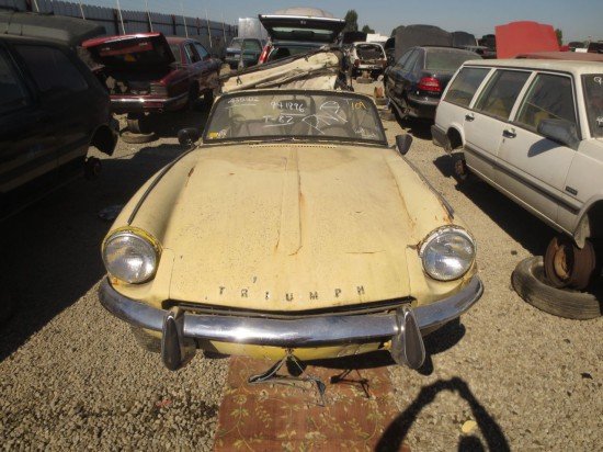 12 - 1965 Triumph Spitfire Down On The Junkyard -  Picture courtesy of Murilee Martin