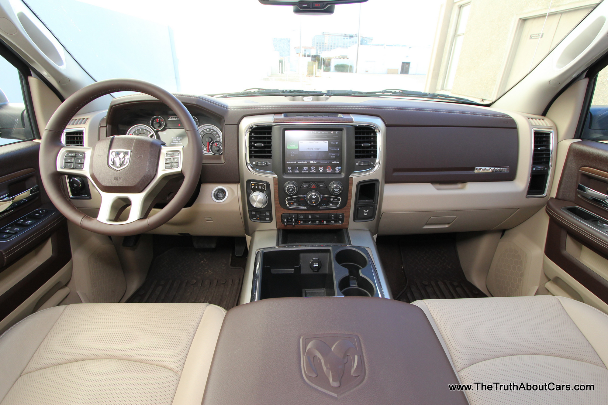 2014 ram 1500 eco diesel laramie interior 002 the truth about cars. Black Bedroom Furniture Sets. Home Design Ideas