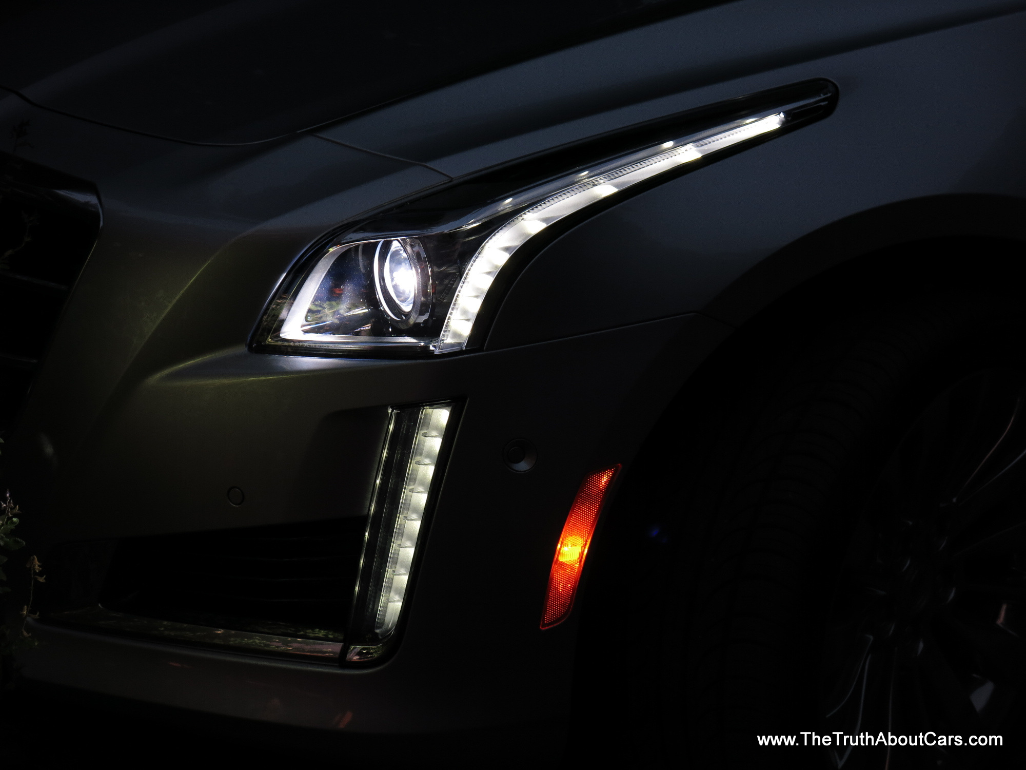 2014 Cadillac Cts 2 0t Exterior 014 The Truth About Cars