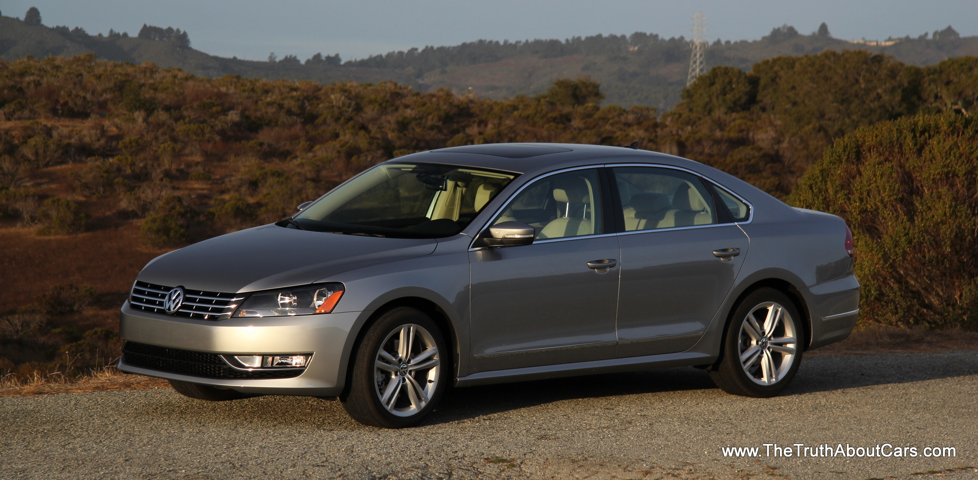 review 2014 volkswagen passat tdi with video the truth about cars. Black Bedroom Furniture Sets. Home Design Ideas
