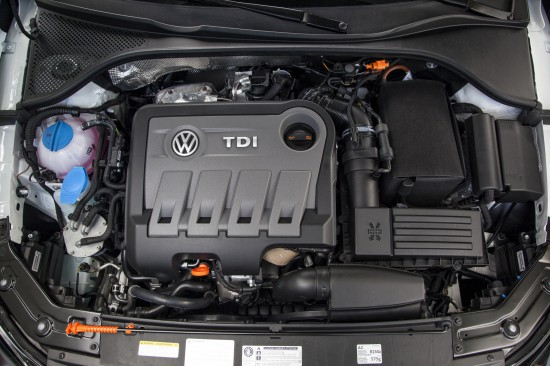 Passat TDI  engine, Picture Courtesy of Volkswagen