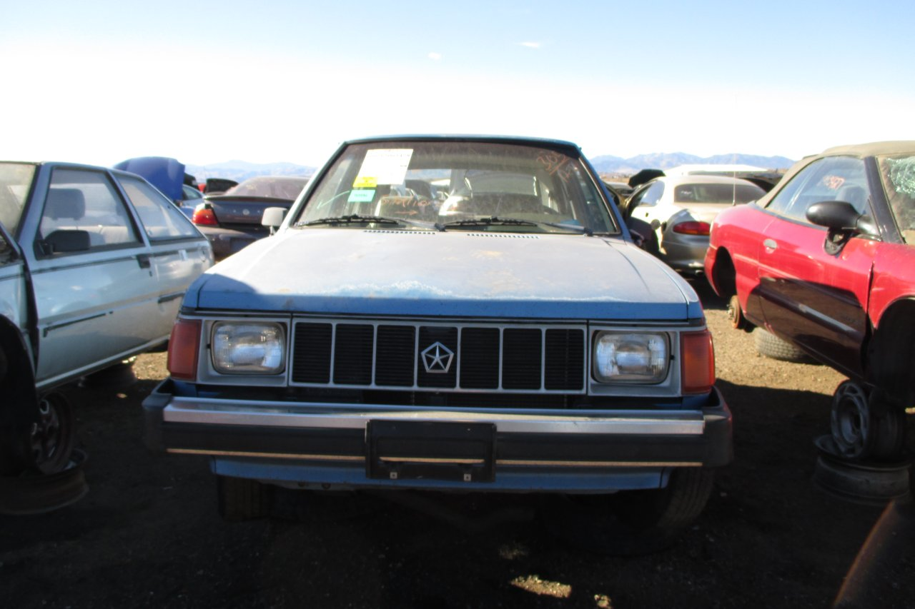 Junkyard Find 1990 Plymouth Horizon The Truth About Cars 89 Dodge Omni Wiring Even With Airbag Last Year Of Production Omnirizon Wasnt Much Different From Original 1978 Version New Does It All