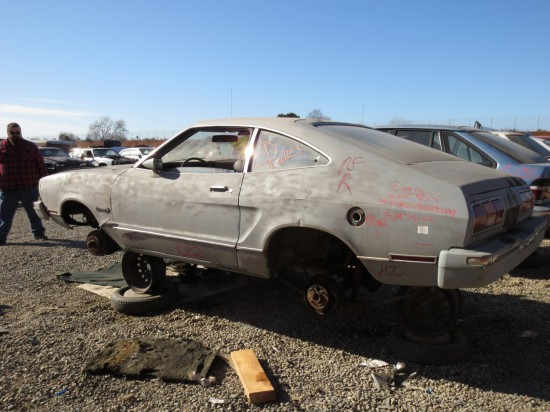 16 - 1974 Ford Mustang Down On the Junkyard - Picture courtesy of Murilee Martin