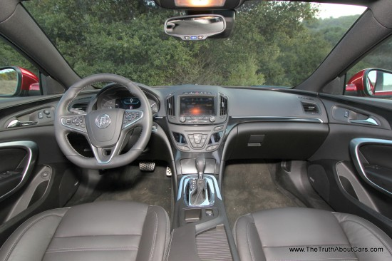 Review: 2014 Buick Regal GS AWD (With Video) - The Truth ...