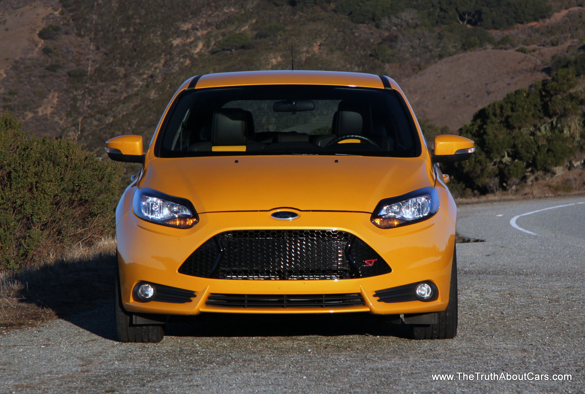 review 2014 ford focus st with video the truth about cars. Black Bedroom Furniture Sets. Home Design Ideas