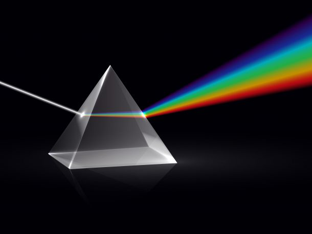 prism. Shutterstock user MicroOne
