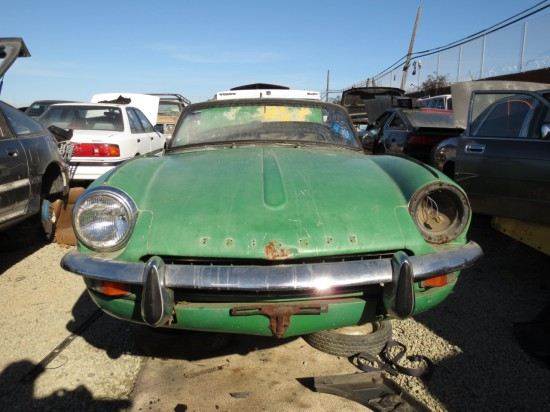 06 - 1967 Triumph Spitfire Down On the Junkyard - Picture courtesy of Murilee Martin