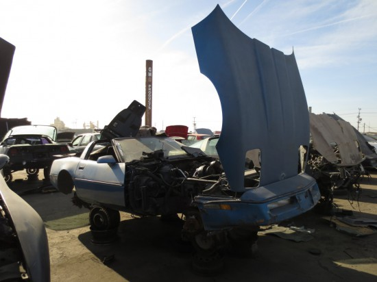 06 - 1984 Chevrolet Corvette Down On the Junkyard - Picture courtesy of Murilee Martin