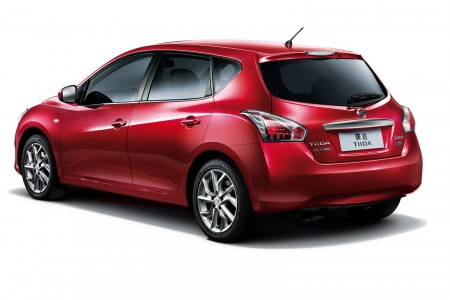 2014 Nissan Tiida Hatchback, Picture Courtesy of Nissan