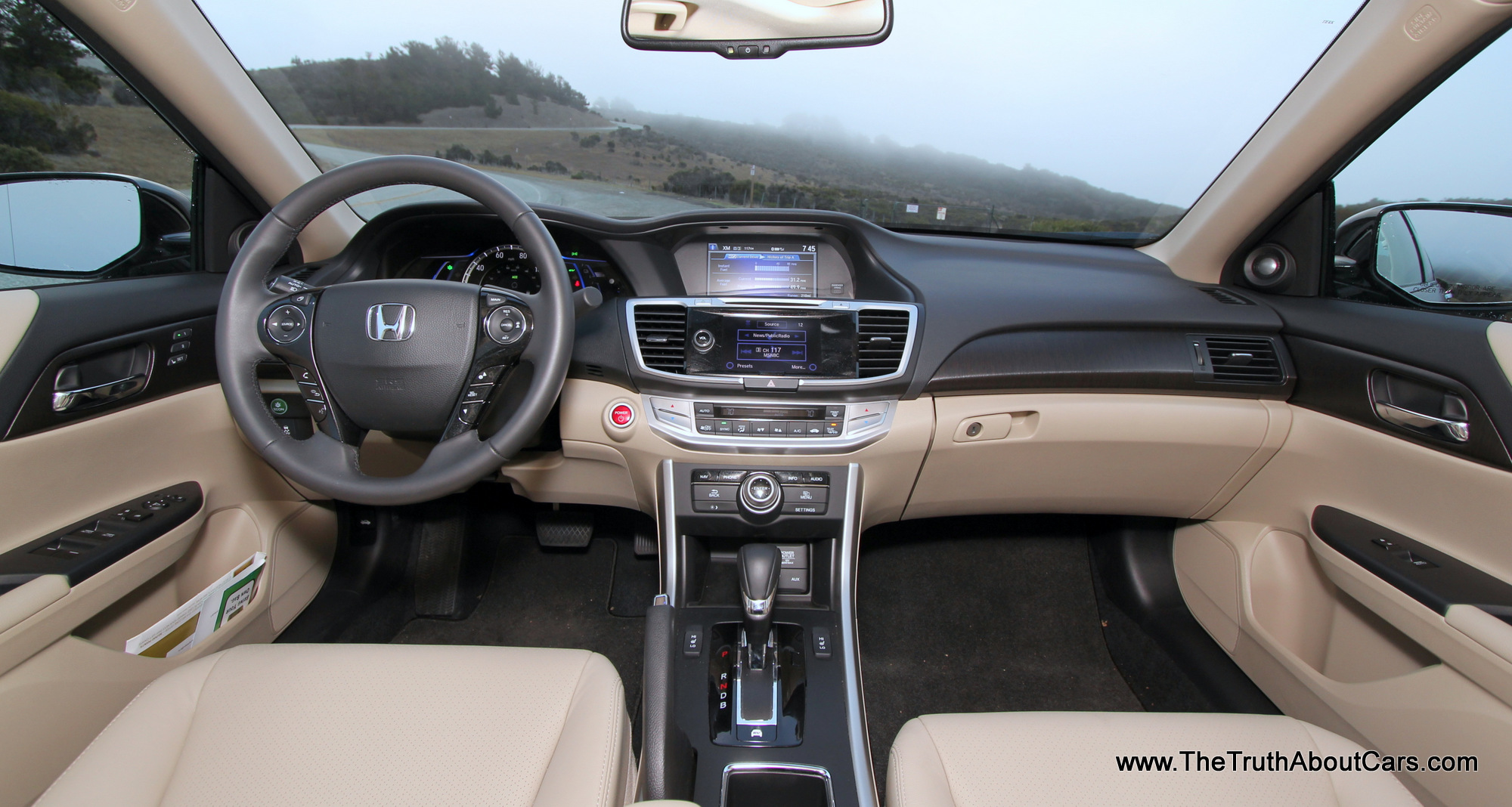 2014 Honda Accord Hybrid Infotainment 002 The Truth
